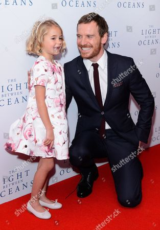 Florence Clery and Michael Fassbender