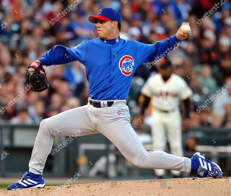 SMYTH Chicago Cubs' Steve Smyth releases a pitch to the San Francisco Giants in the first inning, at Pacific Bell Park in San Francisco