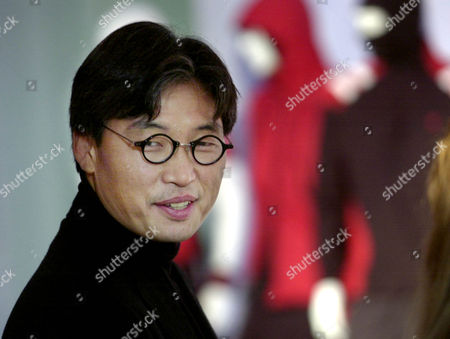 CHU Designer David Chu at the release of his Fall 2003 Nautica Collection in New York