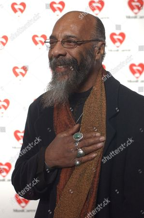 """HAVENS Richie Havens, who played at the original Woodstock, arrives at the 2003 MusiCares """"Person of the Year"""" 13th annual Gala, in New York. U2 lead singer Bono, will be honored as the 2003 MusiCares """"Person of the Year"""" for his accomplishments as a musician and as a humanitarian"""