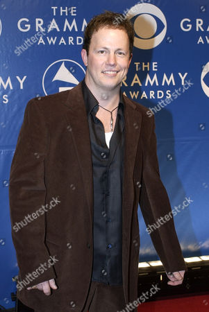 DEAN SAMS Dean Sams, of the country group Lonestar, arrives at the 45th annual Grammy Awards, in New York