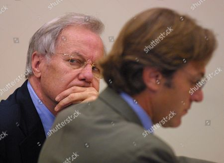 """MOYERS SILVER Journalist Bill Moyers, left, sits in the District Court of Vermont in Bennington with his attorney David Silver, where he pleaded guilty to negligent operation of a motor vehicle, a misdemeanor, on . Moyers, who hosts a weekly program on PBS called """"NOW with Bill Moyers,"""" was arrested and charged with driving under the influence of alcohol on July 27, after leaving a friend's birthday party in Arlington"""