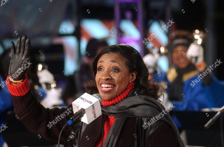 "Stock Picture of WARD Anita Ward sings her song entitled ""Ring My Bell"" as she led the Riverside Ringers hand bell choir in an attempt to set a Guinness World Record for the worlds largest synchronized bell ringing at the 99th New Years celebration at Times Square in NewYork"