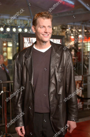 """KILBORN Craig Kilborn, who appears in the film """"Old School,"""" poses for photos before a screening of the movie, in Los Angeles"""