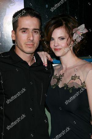 Kirk Acevedo and wife Kiersten Warren