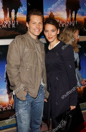 Jamie Bamber and wife Kerry Norton