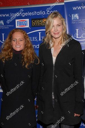 Stock Image of Katia Lund and Daryl Hannah