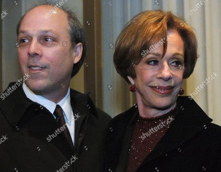 BURNETT Carol Burnett with her husband, Brian Miller, arrive for the opening night of Hollywood Arms, a new play by Carrie Hamilton and Carol Burnett and directed by Harold Prince in New York