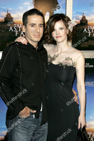 Kirk Acevedo and Kiersten Warren