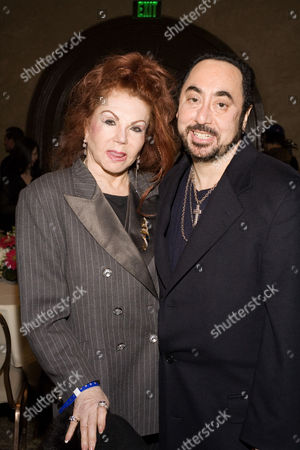 Jackie Stallone and David Gest