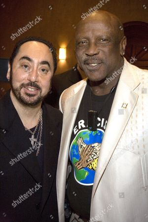 David Gest and Louis Gossett Jnr