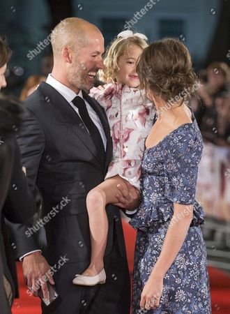Alicia Vikander, Florence Clery and father