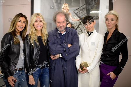 Editorial picture of 'Girls Girls Girls' Private View, Little Black Gallery, London, UK - 19 Oct 2016
