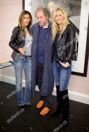Lulu Moore, Mike Figgis and Melissa Odabash
