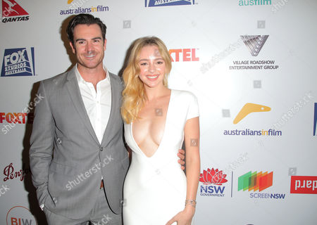 Ben Lawson and Natasha Bassett