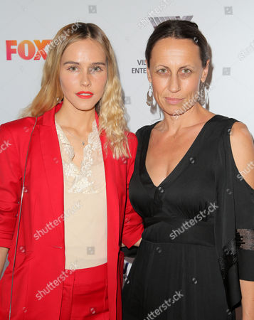 Isabel Lucas and Kim Farrant