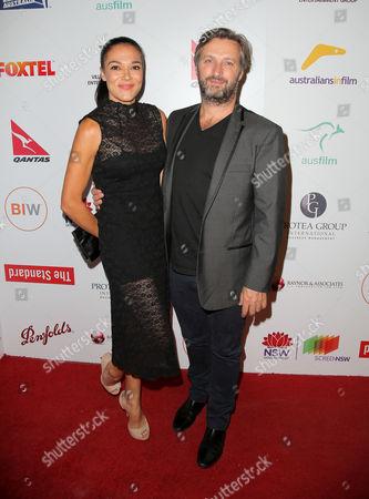 Stock Image of Simone Kessell and Gregor Jordan