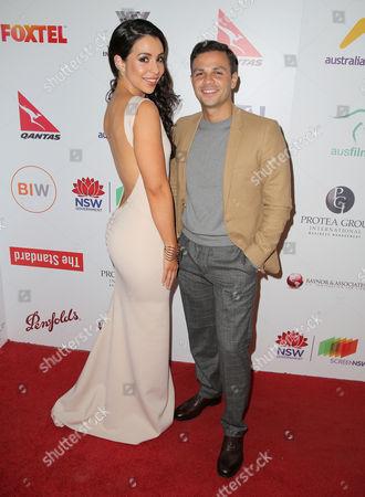 Kat Hoyos and Tyler De Nawi