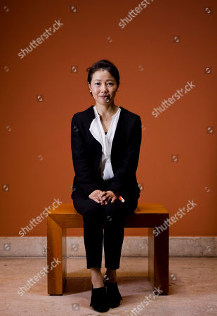 Miwa Nishikawa In this picture taken, director Miwa Nishikawa poses for portraits for the film ' Nagai Iiwake' (Long excuses), at the 11th edition of the Rome Film Festival in Rome