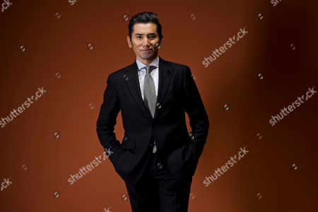 Stock Picture of Masahiro Motoki In this picture taken, actor Masahiro Motoki poses for portraits for the film ' Nagai Iiwake' (Long excuses), at the 11th edition of the Rome Film Festival in Rome