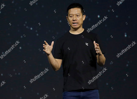 Editorial picture of LeEco Makes Its Move, San Francisco, USA - 19 Oct 2016