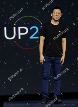 Stock Picture of LeEco CEO Jia Yueting speaks at an event in San Francisco