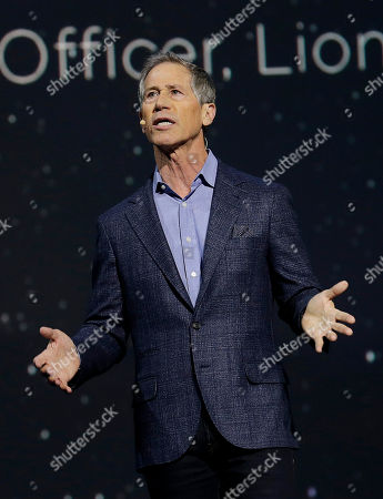 Lionsgate CEO Jon Feltheimer speaks at a LeEco event in San Francisco