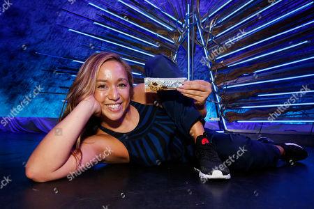 Nicole Winhoffer Celebrity fitness artist Nicole Winhoffer celebrates Pure Protein PLUS, a new line of fiber-rich, GMO-free protein bars, in New York