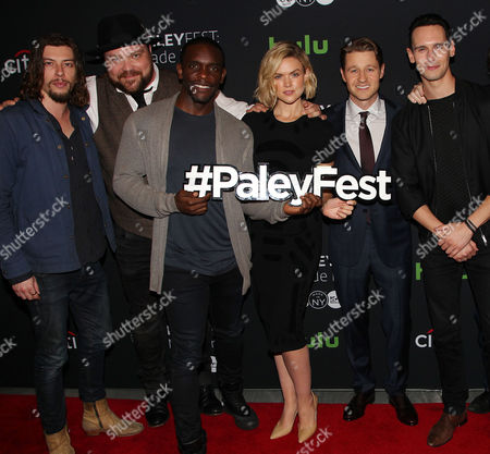 Benedict Samuel, Drew Powell, Chris Chalk, Erin Richards, Benjamin McKenzie, Cory Michael Smith