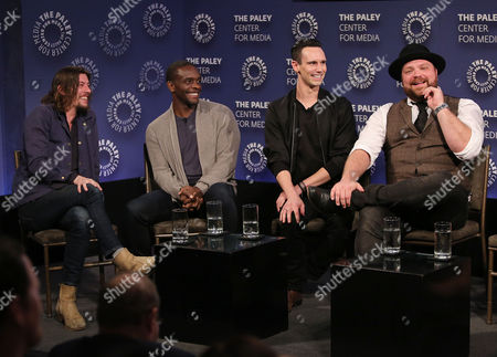 Benedict Samuel, Chris Chalk, Cory Michael Smith and Drew Powell