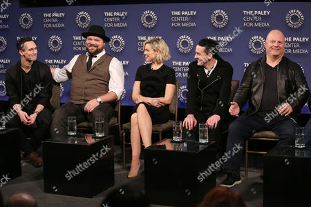 Cory Michael Smith, Drew Powell, Erin Richards, Robin Lord Taylor, Michael Chiklis
