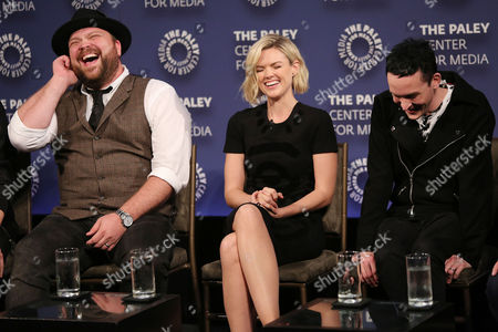 Drew Powell, Erin Richards and Robin Lord Taylor