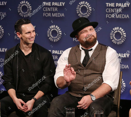 Cory Michael Smith and Drew Powell