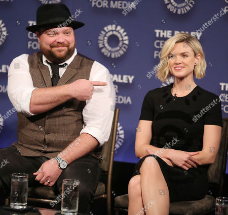 Drew Powell and Erin Richards