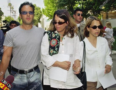 BLAKE AUSTIN Actor Robert Blake's son, Noah, left, and daughter, Delinah, right, and niece, Noreen Austin, walk away from Los Angeles Superior Court, . Judge Lloyd Nash put off a ruling a motion for Robert Blake's release on bail, saying he had to read a lot of documents, many filed in just the last two days