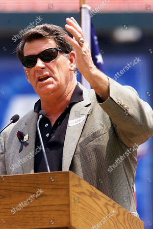 SHANNON St. Louis Cardinals broadcaster Mike Shannon talks about his partner for 30 years, St. Louis Cardinals Hall-of-Fame broadcaster Jack Buck at a memorial service, at Busch Stadium in St. Louis. Jack Buck died Tuesday