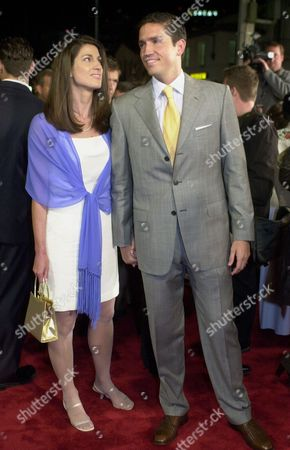 """CAVIEZEL CAVIEZEL Actor Jim Caviezel, right, arrives with his wife, Kerri, for the premiere of """"High Crimes,"""" in which Caviezel co-stars, in the Westwood section of Los Angeles on Wednesday night"""