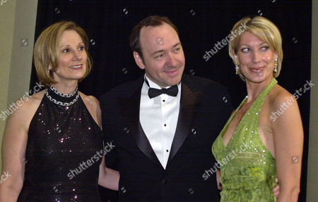 SPACEY CAPTOR REILLY Actor Kevin Spacey arrives with Roxanne Messina Captor, left, executive director of the San Francisco Film Society, and Janet Reilly, right, chairwoman of the awards ceremony, before the San Francisco Film Society Awards night in San Francisco, . Spacey was to receive the annual Peter J. Owens Award