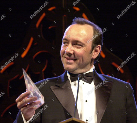 SPACEY Actor Kevin Spacey smiles after receiving an award at the San Francisco Film Society Awards in San Francisco, . Spacey received the 7th annual legendary Peter J. Owens Award