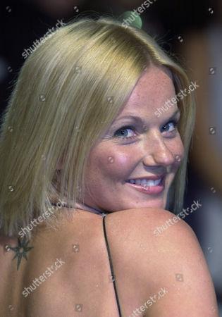 "GERI HALIWELL Former ""Spice Girl"" Geri Haliwell arrives at the Vanity Fair Oscar Party, in West Hollywood, Calif"