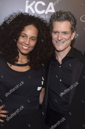 Stock Image of Alicia Keys, Peter Twyman