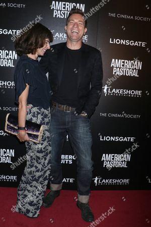 Ewan McGregor and wife Eve Mavrakis