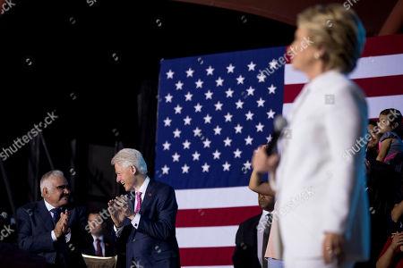 Editorial picture of Campaign 2016 Clinton, North Las Vegas, USA - 19 Oct 2016