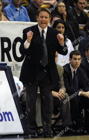 BRAUN California coach Ben Braun reacts to a call against his team during the second half against Arizona State, in Berkeley, Calif. California won 67-59