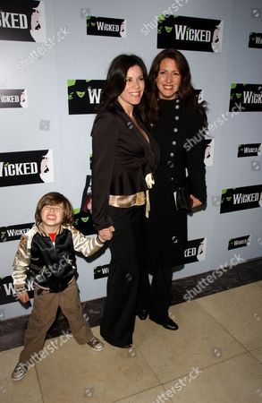 Tricia Leigh Fisher Shari Belafonte with Joely Fisher
