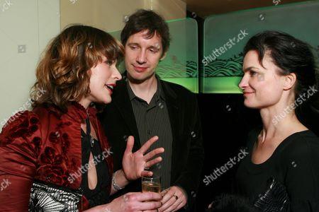 Milla Jovovich, Paul Anderson and Rosetta Millington