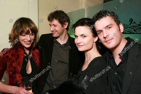 Milla Jovovich, Paul Anderson, Rosetta Millington and Balthazar