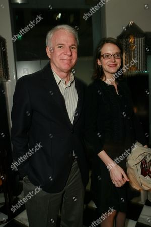 Steve Martin and Anne Stringfield