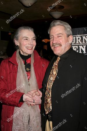 Stock Picture of Marian Seldes, Richard Poe