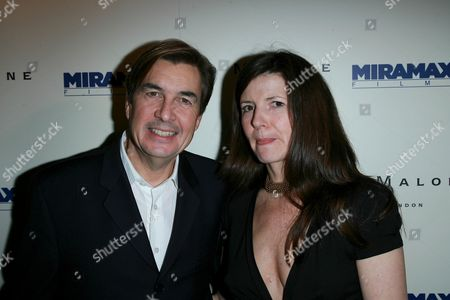 Andy Harries and Christine Langan